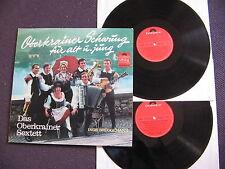 2 LP DAS OBERKRAINER SEXTETT - OBERKRAINER SCHWUNG FÜR ALT UND JUNG / excellent