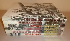 Time Life World War II Series Lot 6 Books Prelude to War, Russia Besieged 4 more