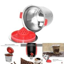 For Nespresso Coffee Machine Stainless Steel Reusable Refillable Capsule Pod Cup