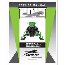 Arctic Cat 2015 Snowmobile Repair Service Shop Manual Book 4-Stroke - 2260-468
