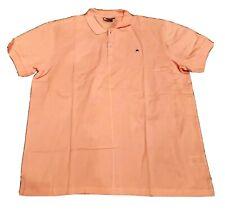 NEW J. Lindberg Salmon Polo Shirt Short Sleeve Golf XXL, US Large.