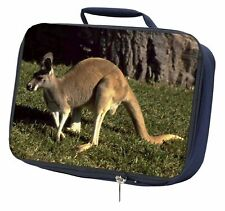 More details for kangaroo navy insulated school lunch box bag, ak-2lbn
