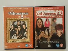 The Osbournes Series 2 and 2.5 DVDs - 4 Discs - Collectors Editions VGC Reality