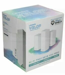 Linksys Velop Tri-Band Whole Home Intelligent Mesh WiFi System, 3 Pack, AC4600