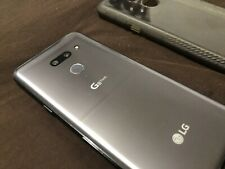 New listing Lg G8 ThinQ Lm-G820Um 128Gb - (Sprint-Unlocked)Cracked Screen Works With Any Gsm