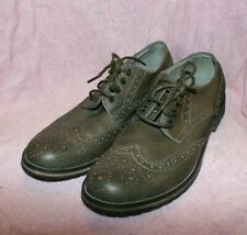 Steve Madden Wingtip Pebble Leather Dress or Casual Shoe Size 10