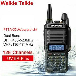 Baofeng UV-9R Plus VHF UHF Walkie Talkie Dual-Band Handheld Two-way Radio