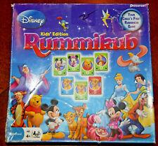 Disney Rummikub Kids Ed Board Game Replacement Tiles Pieces Parts 2009 Pressman
