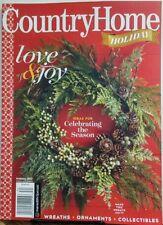 Country Home Holiday 2017 Love Joy Celebrating the Season Christmas FREE SHIPPIN