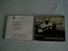 PAUL KELLY job lot of 2 promo CD singles Somewhere In The City Sure Got Me