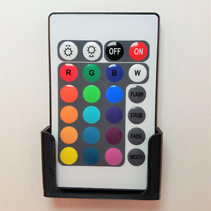 Wall Mount For Led Lighting Remote Control : Black