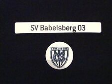 """Magnetlogo & Schriftzug """"SV Babelsberg 03"""" für Magnettabelle Magnet Logo SVB 03"""