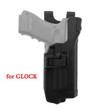 Tactic Level 3 Right Hand Light Bearing Duty Holster for Glock G17 G19 G22 23 31