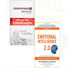 Strengths Finder Now Discover Emotional Intelligence 2 Books Collection Set NEW