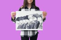 BTS Bangtan Boys Poster Manga Print 2020