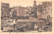 B104658 France St Tropez Un coin du Vieux Port, Quartier des Pecheurs
