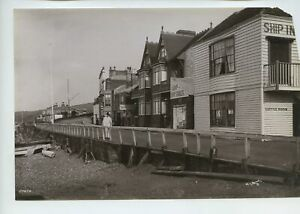 Herne Bay – Ship Hotel Gipson's Bathing House 1890 Photo By Frith