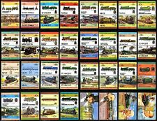 GWR Great Western Railway Collection of 65 Locomotive Train Stamps (Loco 100)