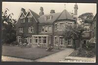Postcard Bournemouth Dorset garden of Roysdean in Derby Road RP