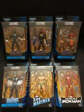 "Marvel Legends 6"" Black Panther Complete Set Of 6 Okoye Serie 2018"
