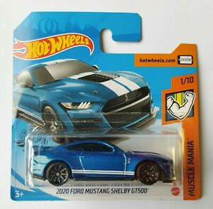 Hot Wheels 2020 - Ford Mustang Shelby GT500 - Muscle Mania NEW! ESC1:64 Nuevo!