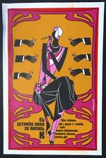 THE STRANGE CASE OF RACHEL K Cuban Silkscreen Movie Poster / CUBA ART by REBOIRO