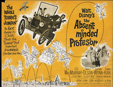 The Absent-Minded Professor original Disney 1961 movie poster Skye Terrier