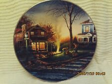 """""""Aroma of Fall"""" Collector Plate by Terry Redlin #6270 Hadley House 1992"""