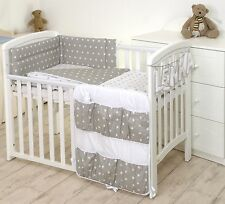 Grey Elephant 2pcs Baby Bedding Set Duvet/ Quilt Cover Pillowcase More Patterns Cot Bed 140x70 Stars Grey/white 2 PC