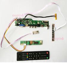 TV PC HDMI CVBS RF USB AUDIO LCD screen Controller Board  kit for Display panel
