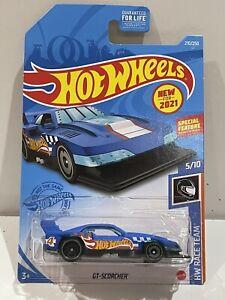 2021 Hot Wheels GT-Scorcher Blue