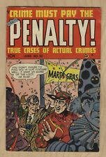 Crime Must Pay The Penalty #20 1951 GD/VG-