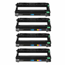 4 Pack Dr221 Drum Unit for Brother HL-3140CW HL-3170CDW MFC-9130CW MFC-9330CDW