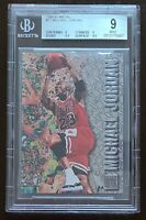 HOF Michael Jordan 1996-97 Fleer Metal #11 BGS 9 w/ 9.5 Chicago Bulls
