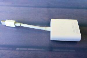 Genuine Apple Mac A1307 Thunderbolt 2 / Mini DisplayPort to VGA Adapter