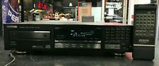 Kenwood Dp-3010 Compact Disc Player Single Black Player W/ Remote Tested