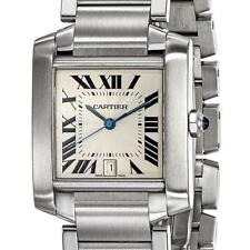 Certified Pre-Owned Cartier Tank Francaise Stainless Steel 28x36mm Unisex Watch