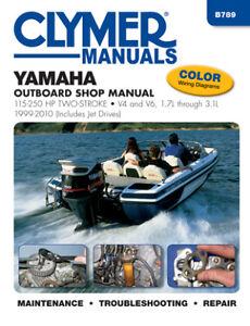 Yamaha 115-250 HP 2-Stroke Outboard & Jet Drives (1999-2010) Service Repair Manu