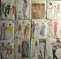 McCALL'S Vintage Sewing Patterns Jumpsuits & Pants -U Pick!