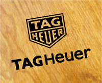 TAG HEUER Old School Aufkleber Sticker Retro Uhr Watch Motorsport Rennen Decal