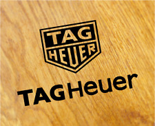 TAG HEUER Old School Aufkleber Sticker Retro Uhr Watch Motorsport Rennen Decal