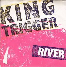 7inch KING TRIGGER river UK 1982 POSTER COVER  (S0741)