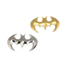 3D Metal Batman Silver Stickers Badge Graphics Decal Car DIY Sticker Universal