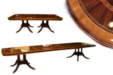 Extra Large Mahogany Dining Room Table American Finish