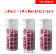 Ikea 3 VARIERA Plastic Bag Dispensers Home Organization Crafts Yarn Clothes NEW