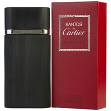PROFUMO UOMO CARTIER SANTOS DE CARTIER 100 ML EDT 3,3OZ 100ML HOMME EAU TOILETTE