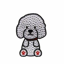 Bichon Frise Dog Rhinestone Glitter Jewel Phone Ipod Iphone Sticker Decal
