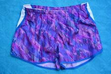 CHAMPION Power Train Athletic Active Wear Comfy Shorts. Size L. Purple/WHITE NEW