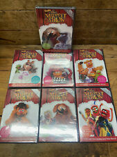 (7) BEST OF THE MUPPET SHOW 25th Anniversary Time Life Edition DVD Lot - SEALED!