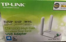 TP-Link Archer T4UH AC1200 High Gain Wireless Dual Band USB WiFi Adapter - White